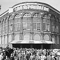 Fans Leave Ebbets Field by David E. Scherman
