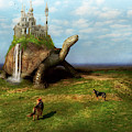 Fantasy - Shangri-la by Mike Savad