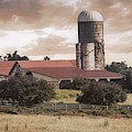 Farm 2 #silo #rural by Andrea Anderegg