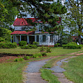Farm House On Liberty Highway by Dale Powell