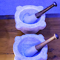 Farmacia Mortar And Pestle by Tom Singleton
