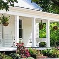 Farmhouse At Mcdaniel Farm Park by Mary Ann Artz