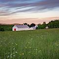 Farmhouse In Spring by Darylann Leonard Photography