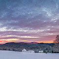 Farmhouse Panorama by Darylann Leonard Photography