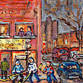 Felix Mish Charcuterie Polonais Hockey Boys Ville Emard Cote St Paul Resto Deli Grocery C Spandau by Carole Spandau