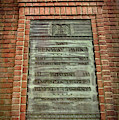 Fenway Park Bronze Plaque by Joann Vitali