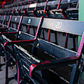 Fenway Park Seats Boston Ma by Toby McGuire