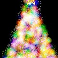 Fiber Optic Christmas Tree by Rachel Hannah