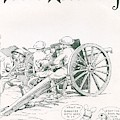 Field Artillery By Jo Mora 1926 by California Views Archives Mr Pat Hathaway Archives
