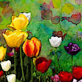 Field Of Tulips by Jas Stem