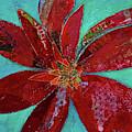 Fiery Bromeliad I by Shadia Derbyshire