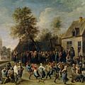 Fiesta Campestre   by Teniers  David