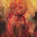 Fire Earth Latte Stone by Michelle Pier
