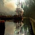 Fireworks Explode Over Salem Massachusetts by Jeff Folger