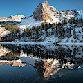 First Snow At Lake Blanche by James Udall