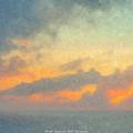 First Sunrise Off Bermuda by Bill McEntee