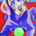 First Tennis Ball by Jody Wright