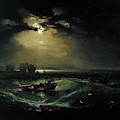 Fishermen At Sea by William Turner