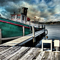 Fishing Boat In Saugatuck by Evie Carrier