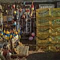Fishing Buoys - Rockport, Ma. by Joann Vitali