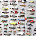 Fishing Lures - Dwp2669219 by Dean Wittle