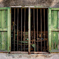 Fishing Village Window by Tom Singleton