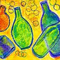 Five Floating Bottles  by Asha Sudhaker Shenoy