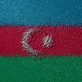 Flag Of Azerbaijan by Jeff Iverson