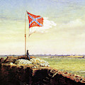 Flag Of Fort Sumter by Conrad Wise Chapman