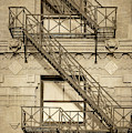 Flatiron Fire Escape   by Imagery by Charly