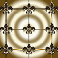 Fleur-de-lis Tiled by Chuck Staley