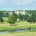 Floors Castle And River Tweed by Victor Lord Denovan