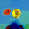 Floral Art 411 by Miss Pet Sitter
