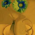 Floral Art 414 by Miss Pet Sitter