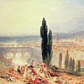 Florence From Near San Miniato, 1828 by Joseph Mallord William Turner