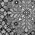 Floriated Ink 13 by Amy E Fraser