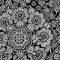 Floriated Ink 15 by Amy E Fraser