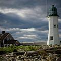 Flotsam Washed Up At Scituate Lighthouse by Jeff Folger