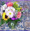 Flower Bouquet  by Elly Potamianos