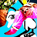 Flower Face by Artist Dot