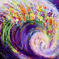Flower Wave by Anne Cameron Cutri