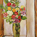 Flowers, 1929 by Marie Clementine Valadon