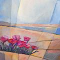 Flowers At Coast by Lutz Baar