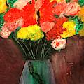 Flowers Still Life by Jose Rojas