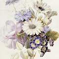 Flowers With Daisies, 1840 by French School