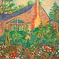 Flowery Backyard by Kendall Kessler