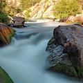 Flowing Water Of The Platte by Steve Krull