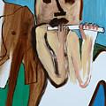 Flute Player by Edgeworth DotBlog