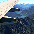 Flying Over The Rockies by Peggy Collins