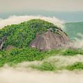 Fog Over Looking Glass Rock by Joye Ardyn Durham